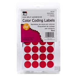 Color Coding Labels Red, CHL45130