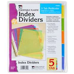 5 Tab Index Dividers 24/Pdq, CHL48500ST