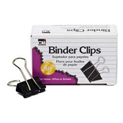 "Binder Clips Mini 12Ct 1/4"" Capacity, CHL50001"