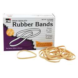 "Rubber Bands 3"" X 1/32"" X 1/8"" - 1/4 Lb Box By Charles Leonard"