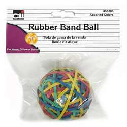 Rubber Bands Asst Colors, CHL56300