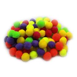 "Pom Poms 1.5"" Hot Colors 100Ct, CHL69116"