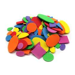 Foam Shapes Asst Colors 264 Pcs, CHL70526
