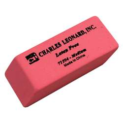 Synthetic Wedge Erasers Medium, 24/Bx By Charles Leonard