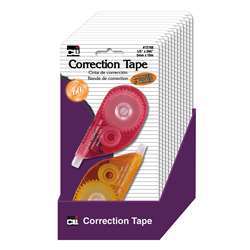 Correction Tape Asrtd Colors 12St, CHL72788ST