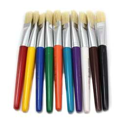 Brushes Stubby Flat 10 Set, CHL73290