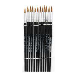Brushes Water Color Pointed #7 3/4 Camel Hair 12 C, CHL73507
