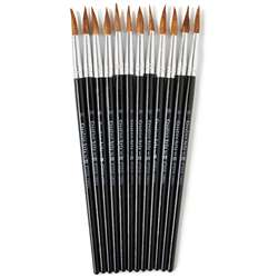 Brushes Water Color Pointed #10 15/16 Camel Hair 1, CHL73510