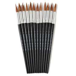Brushes Water Color Pointed #12 1-1/16 Camel Hair , CHL73512