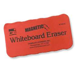 4X2 Red 12Pk Magnetic Whiteboard Erasers, CHL74540