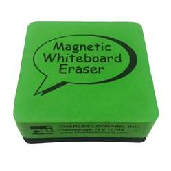 2X2 Lime 12Pk Magnetic Whiteboard Erasers, CHL74542