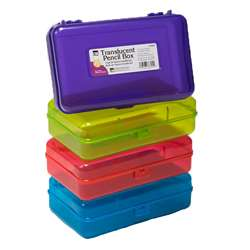 Pencil Box Translucent Let Us Choose Your Color, CHL76305