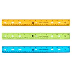 "Ruler Plastic 12"" Flat Translucent Let Us Choose , CHL80336"
