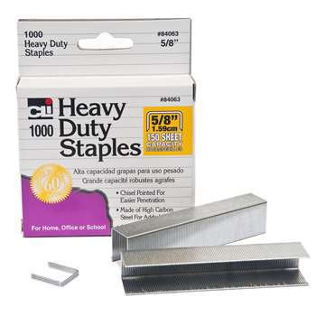 Extra Heavy Duty Staples 5/8, CHL84063