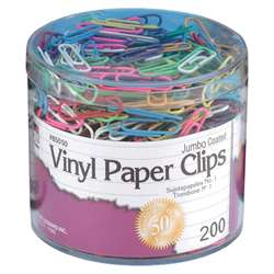Jumbo Paper Clips 200 Count, CHL85050