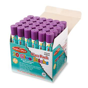 Economy Glue Classpack .28 Oz 30Ct Purple By Charles Leonard
