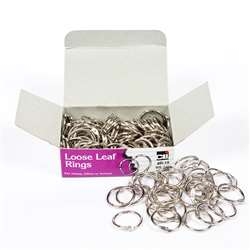 "Rings Loose Leaf 3/4"" 100/Bx, CHLR19"