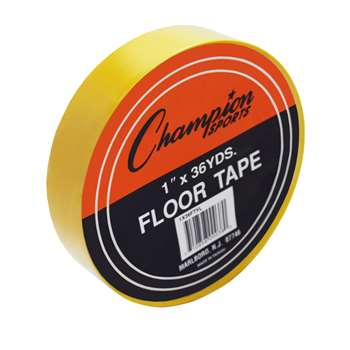 Floor Marking Tape Yellow By Champion Sports Floor Tape