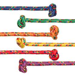 8Ft Asst Braided Nylon 6/Set Jump Ropes, CHSCR8SET