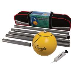 Deluxe Tether Ball Set By Champion Sports
