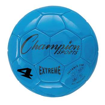 Soccer Ball Size4 Composite Blue, CHSEX4BL