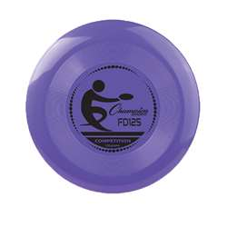 Plastic Disc Set Assorted Colors, CHSFD125