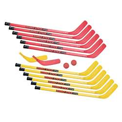 Hockey Set Elementary Abs Plastic 12 Sticks, CHSHS36SET