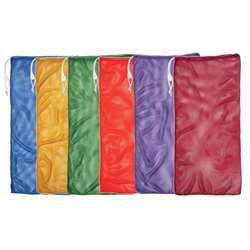 6 Set Asst Color Mesh Equipment Bag, CHSMB22SET