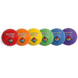 "85"" 6 Pc Playground/Kickball Set Assorted Colors, CHSPGSET"