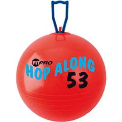 Fitpro 20.5In Hop Along Pon Pon Ball Red Medium By Champion Sports