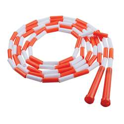 Plastic Segmented Ropes 10Ft Orange & White By Champion Sports