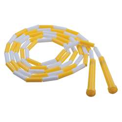 Plastic Segmented Ropes 8Ft Yellow & White By Champion Sports