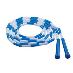 Plastic Jump Rope Blue White Segmented 9Ft By Champion Sports