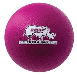 Dodgeball Set/6 Rhino Skin Purple, CHSRXD6NVSET