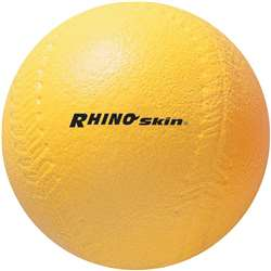 "4"" Yellow Coated Foam Softball High Density, CHSSB4"