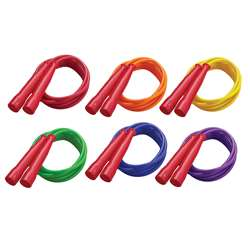 Speed Rope 7Ft Red Handle Assorted Licorice Rope By Champion Sports