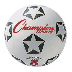 Champion Soccer Ball No 5 By Champion Sports