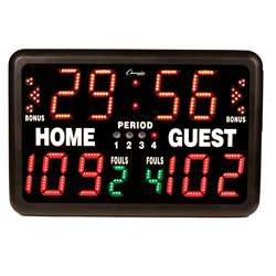 Electronic Scoreboard Multi-Sport Tabletop Indoor, CHST90