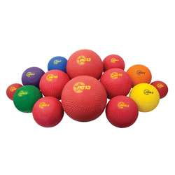 14 Asst Sizes Playground Ball Set, CHSUPGSET1