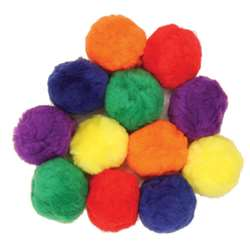Colossal Fluff Balls 70 Mm Multi Color By Chenille Kraft