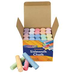 Sidewalk Chalk 20 Pieces By Chenille Kraft