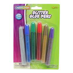 Glitter Glue Pens Bright Hues Color By Chenille Kraft