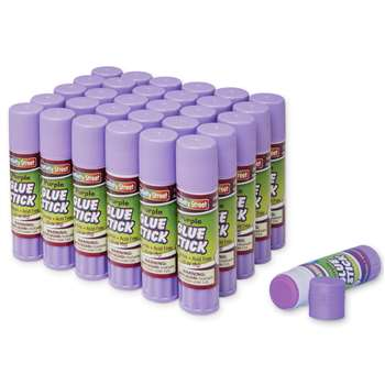 Glue Sticks 30 Purple .28 Oz By Chenille Kraft
