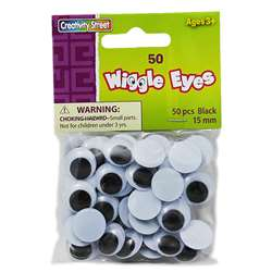 Wiggle Eyes 15Mm By Chenille Kraft