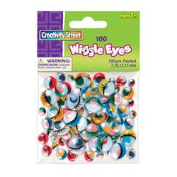 Painted Eyes 100 Pieces By Chenille Kraft