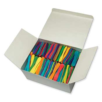 Craft Spoons 900 Pieces Bright Hues By Chenille Kraft