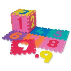 Wonderfoam Number Puzzle Mat By Chenille Kraft