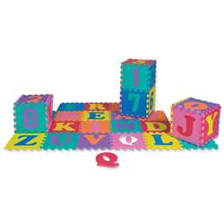 Wonderfoam Letters & Numbers Puzzle Mat 2 Sets 72 , CK-4390