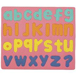 Wonderfoam Magnetic Lower Case Letters Puzzle Set By Chenille Kraft