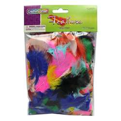 Feathers Bright Hues By Chenille Kraft
